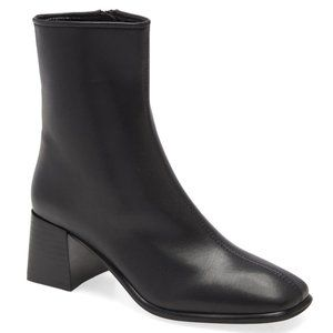 Jeffrey Campbell Square Toe Troye Heeled Booties 8